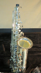Chateau Alto Saxophone VCH-800S1Y2 Thicker silver plated without lacquer