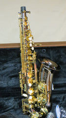 Chateau Alto Saxophone Student Model VCH 221BL black body and lacquer keys