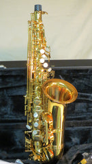 Chateau Alto Saxophone Student Model - Golden Finished Body (CAS-22GL)