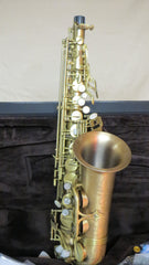 Chateau High-end Professional Handmade Alto Saxophone VCH A920MZ  Antique Finish, red brass body, 92% copper