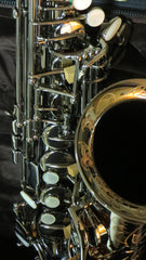 Chateau Alto Saxophone VCH-800BBY2  Black body, black plated key