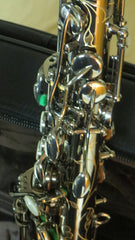 Chateau Professional handmade Alto Saxophone in Black body with black plated key CAS-80BB