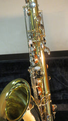 Chateau Tenor Saxophone Lacquer Finish w/nickel key BRAND NEW VCH-233LNK
