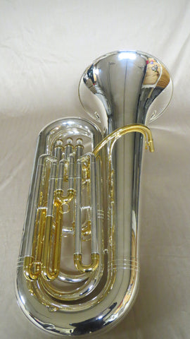 Chateau B Flat Tuba ST105GS Gold and Silver Plated