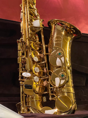 Chateau Alto Saxophone Professional Model Lacquer Body with 85% Copper (CAS-60U)
