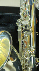 Chateau Tenor Saxophone Student Model VCH-233S Silver Finish