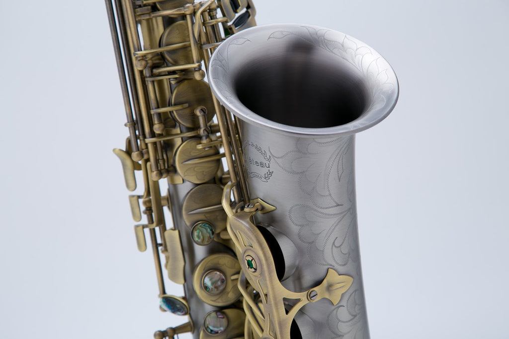Chateau Alto Saxophone VAS-960NSAN Silver Antique Finish