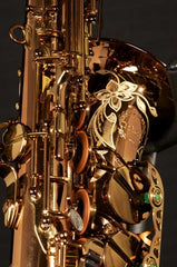 Chateau High-end Professional Handmade Alto Saxophone TYA-900 All champagne color finish