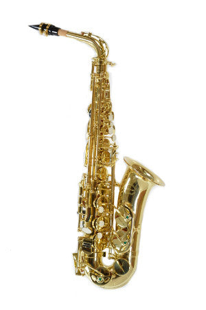 Chateau Alto Saxophone Student Model Lacquer finish