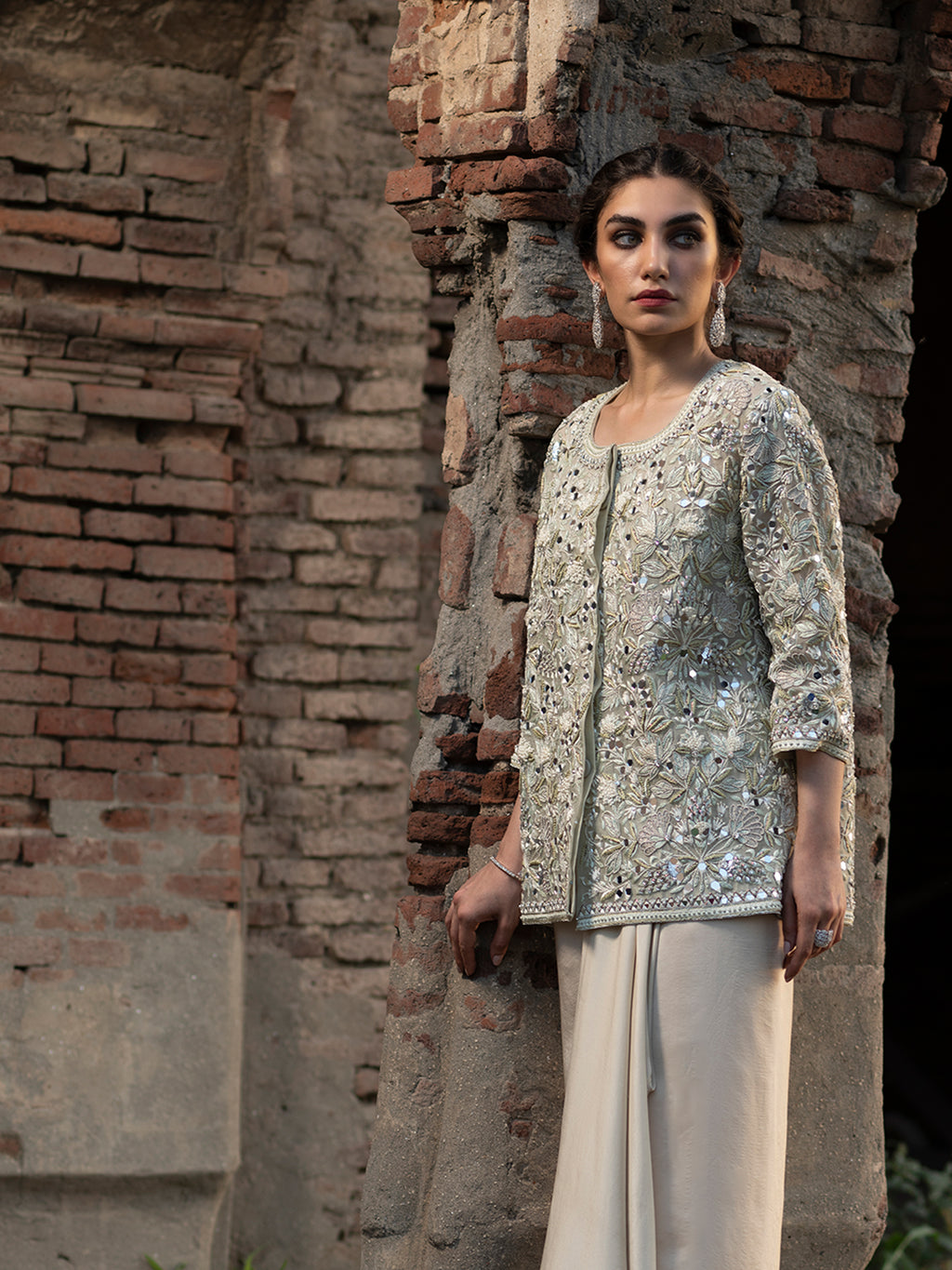 LINA JACKET & DHOTI SKIRT