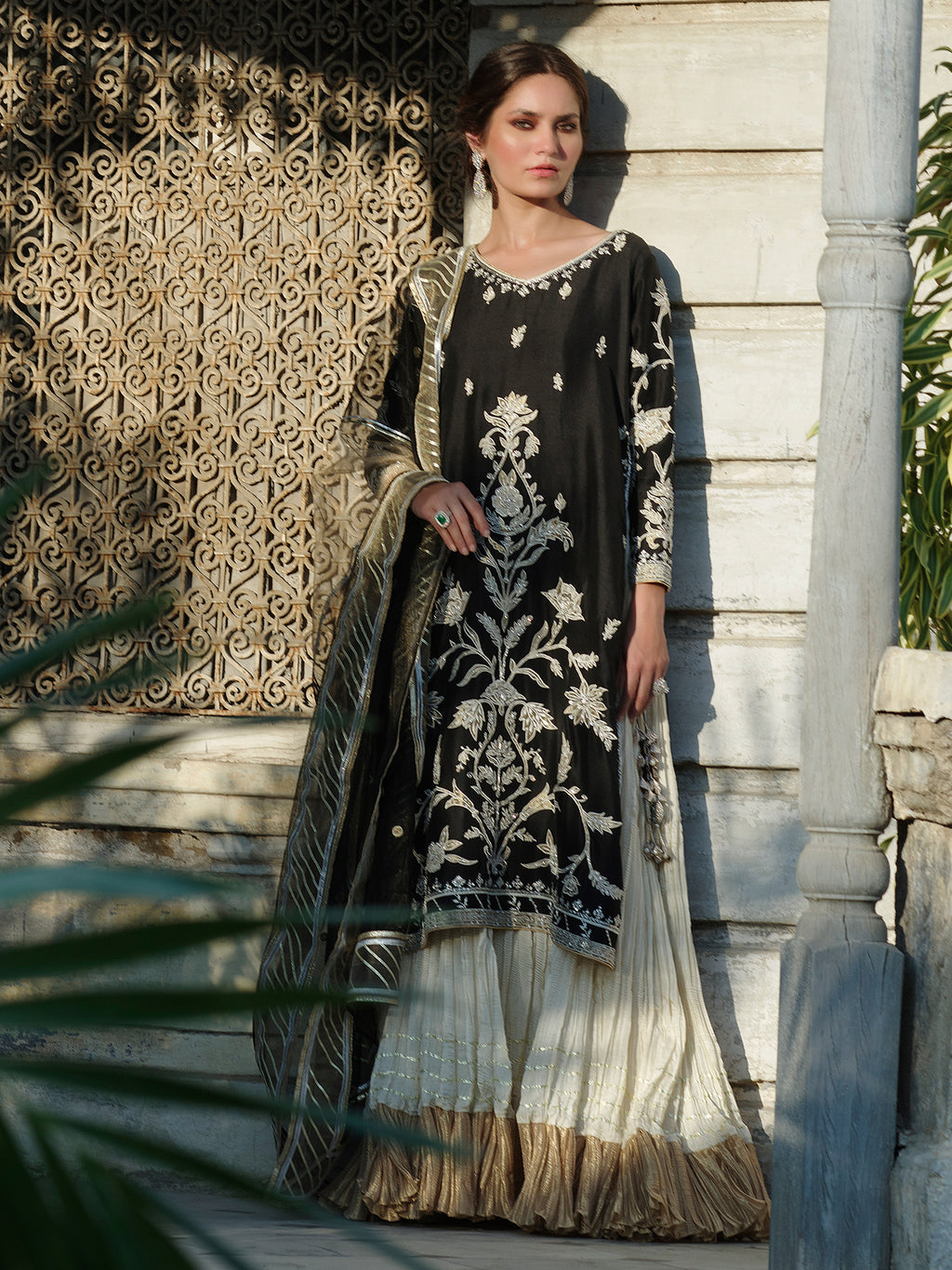 SIDESLIT DRESS & DUPATTA
