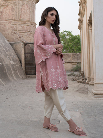 Embroidered Skinny Shalwar