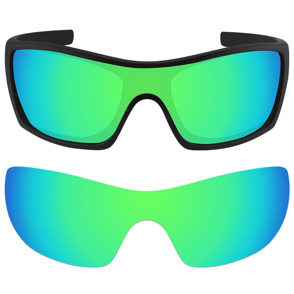 526615fa8c ... Dynamix Replacement Lenses for Oakley Batwolf - Polarized Emerald Green  1 ...