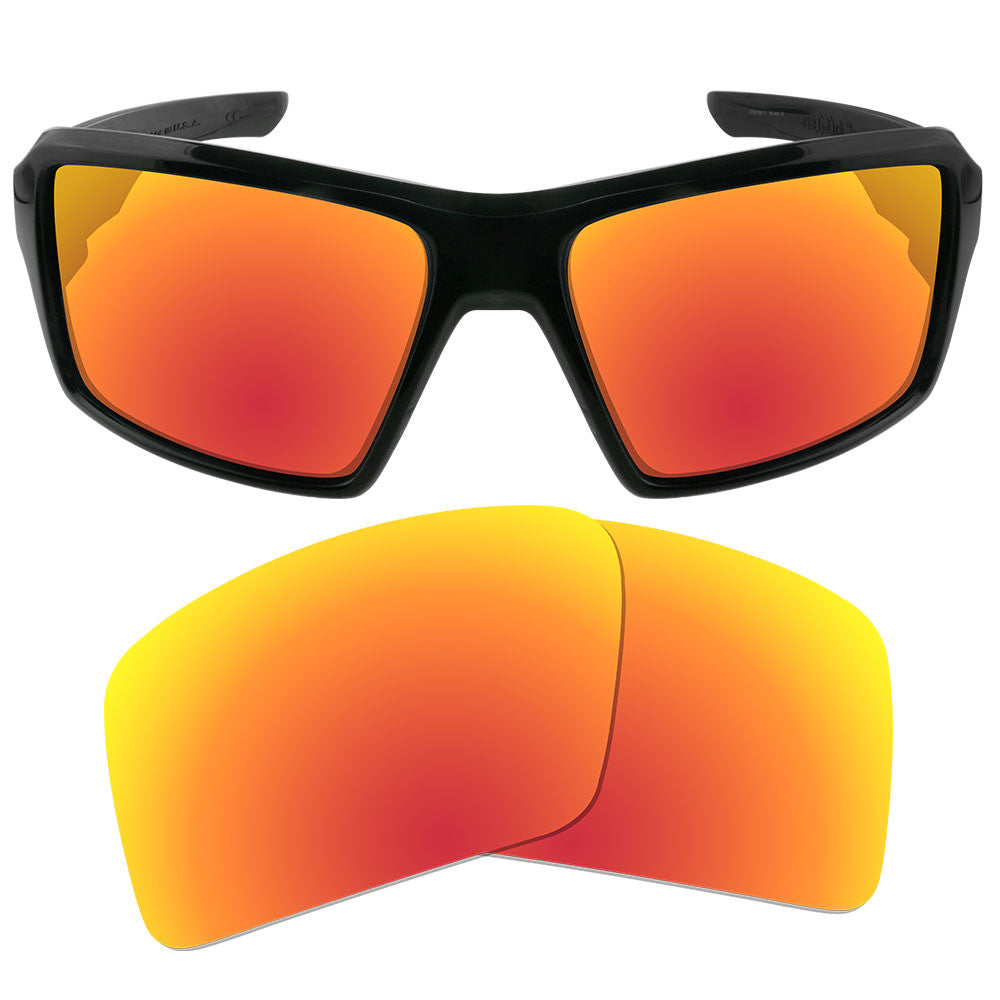 e7590f018e ... Dynamix Replacement Lenses for Oakley Eyepatch 2 - Polarized Fire Red 1  ...
