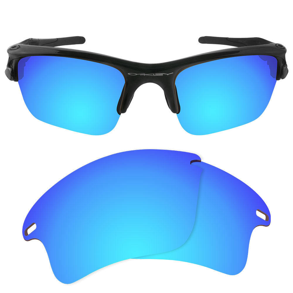 030d534971 ... Dynamix Replacement Lenses for Oakley Fast Jacket XL - Polarized Ice  Blue 1 ...