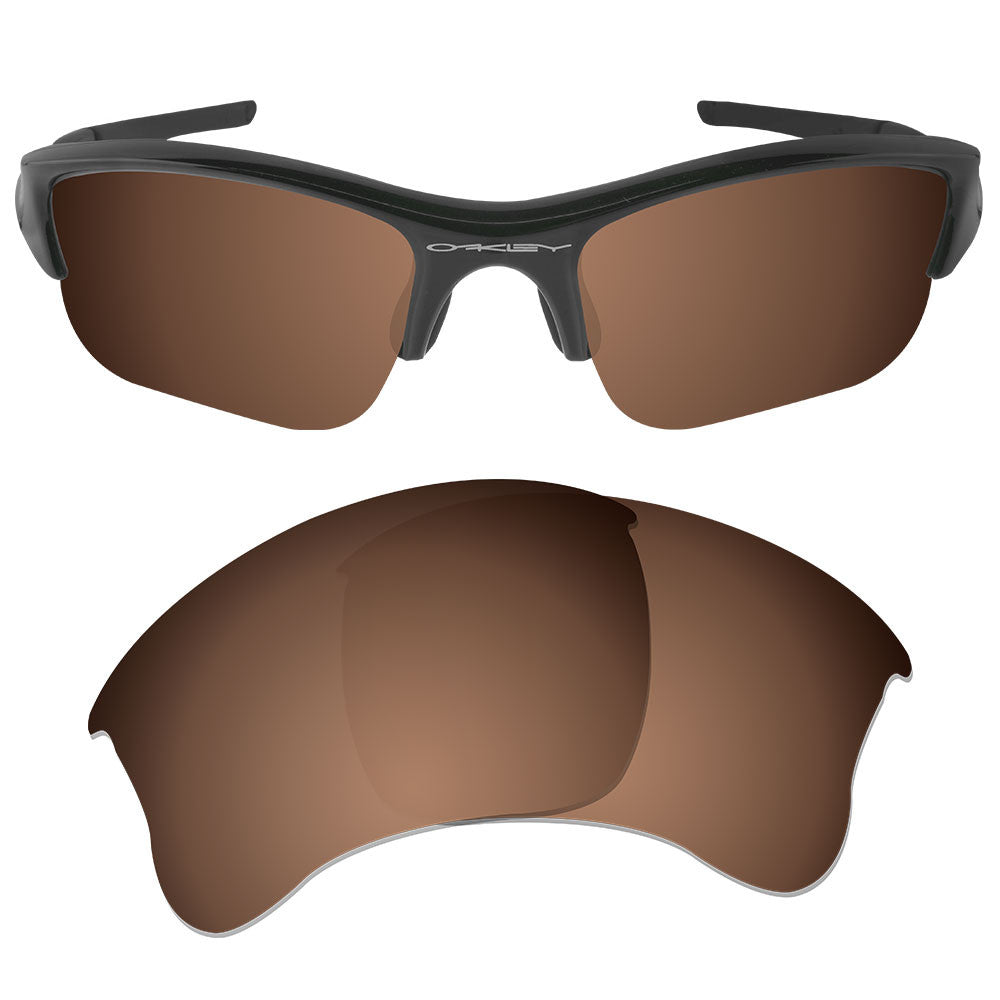 a8d21509075 ... Dynamix Replacement Lenses for Oakley Flak Jacket XLJ - Polarized Earth  Brown 1 ...
