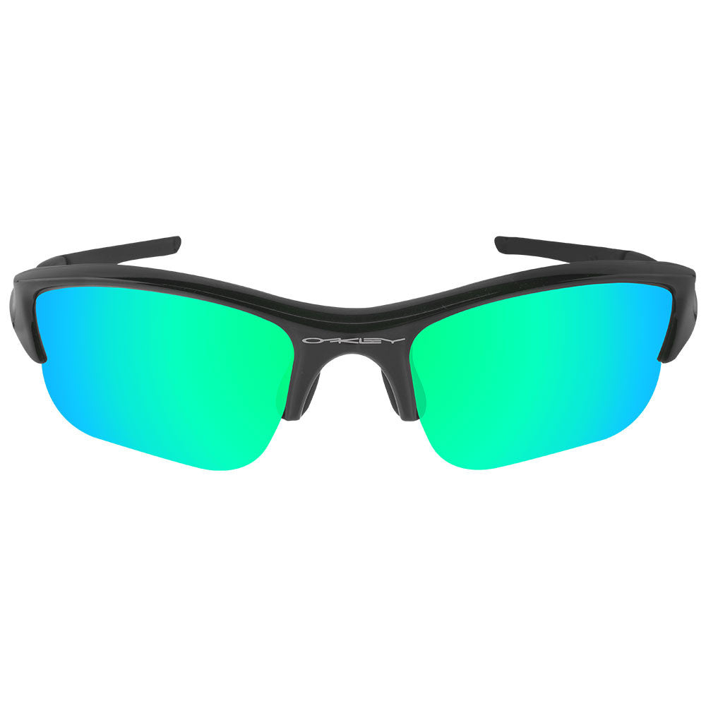 dd027da886 ... Dynamix Replacement Lenses for Oakley Flak Jacket XLJ - Polarized  Emerald Green 3 ...