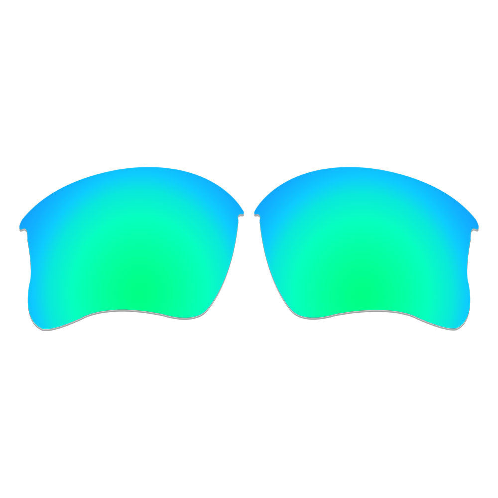 9eb6275437 ... Dynamix Replacement Lenses for Oakley Flak Jacket XLJ - Polarized  Emerald Green 4 ...