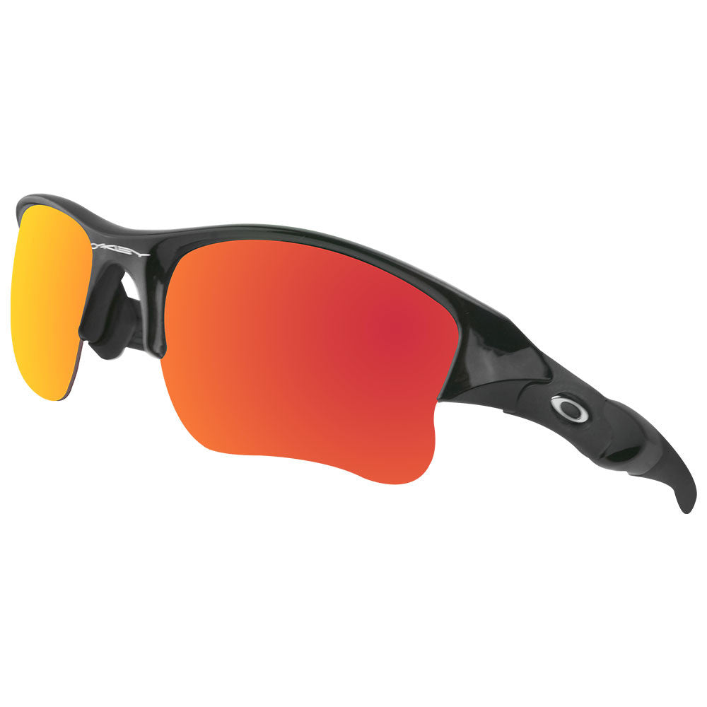 6870fda1baa Oakley Flak Jacket Fire Iridium Polarized Lenses « Heritage Malta