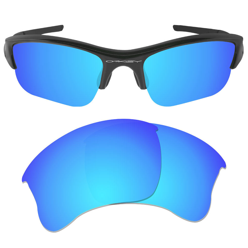 59076a6456 ... Dynamix Replacement Lenses for Oakley Flak Jacket XLJ - Polarized Ice  Blue 1 ...