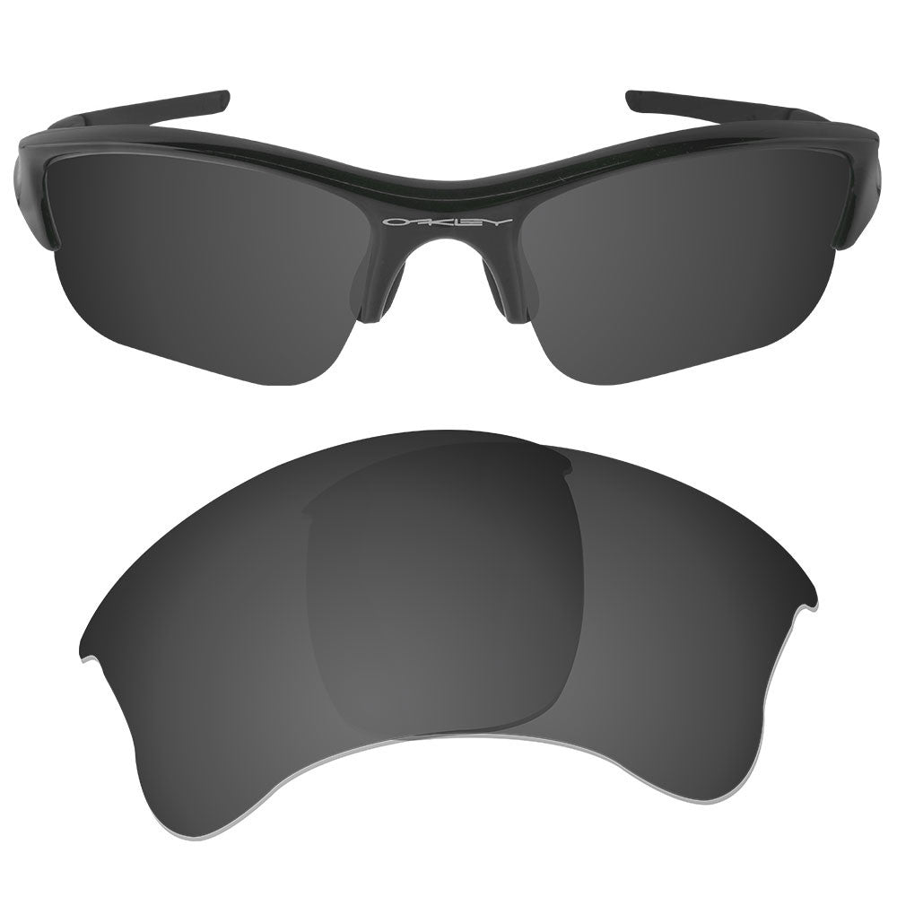 c3b35f64bc6 ... Dynamix Replacement Lenses for Oakley Flak Jacket XLJ - Polarized Solid  Black 1 ...