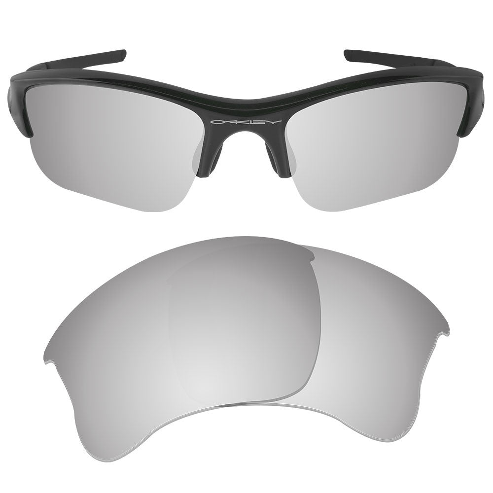 188a4796bd6 ... Dynamix Replacement Lenses for Oakley Flak Jacket XLJ - Polarized  Titanium 1 ...