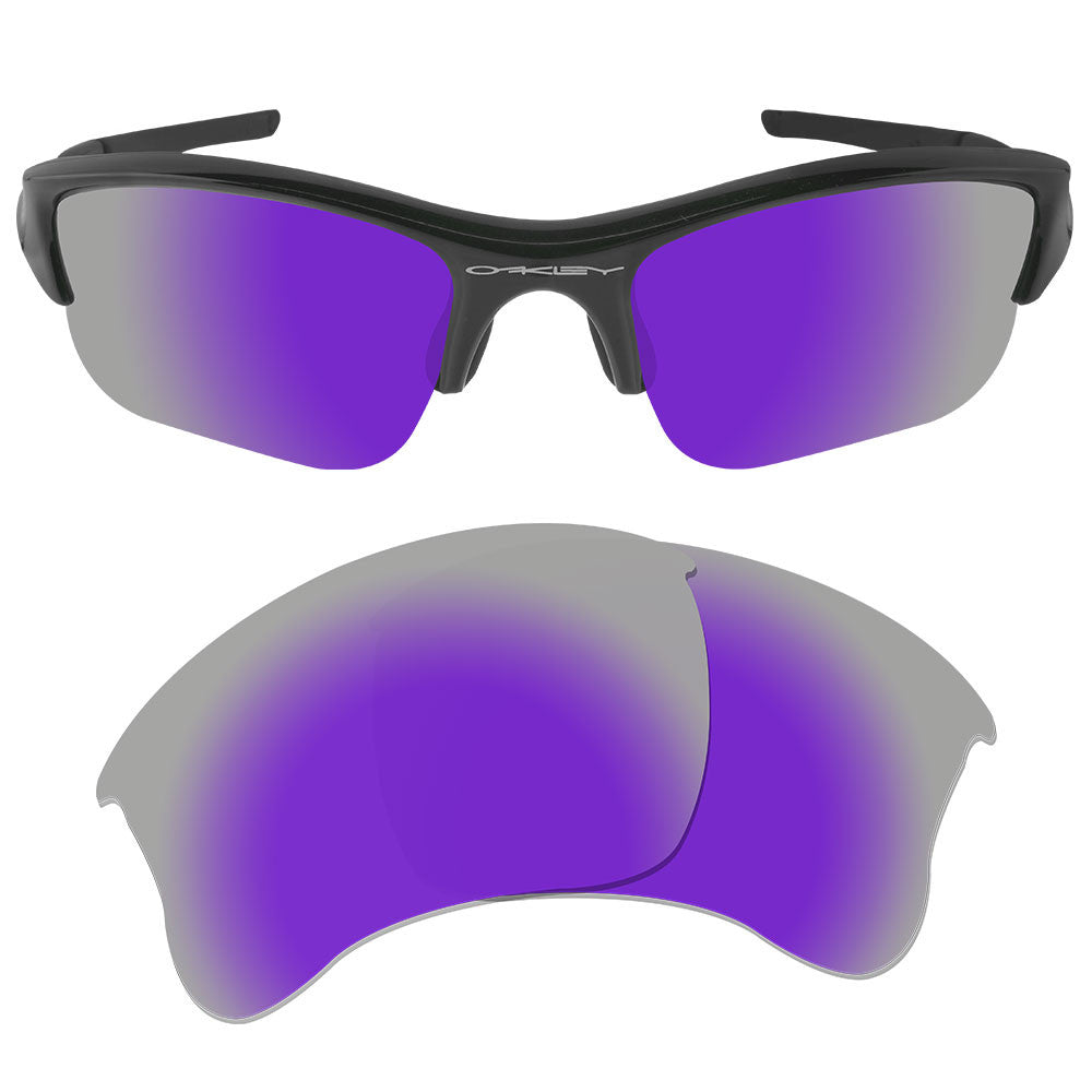 oakley full jacket lenses c0vp  Dynamix Replacement Lenses for Oakley Flak Jacket XLJ- Polarized Violet  Purple 1