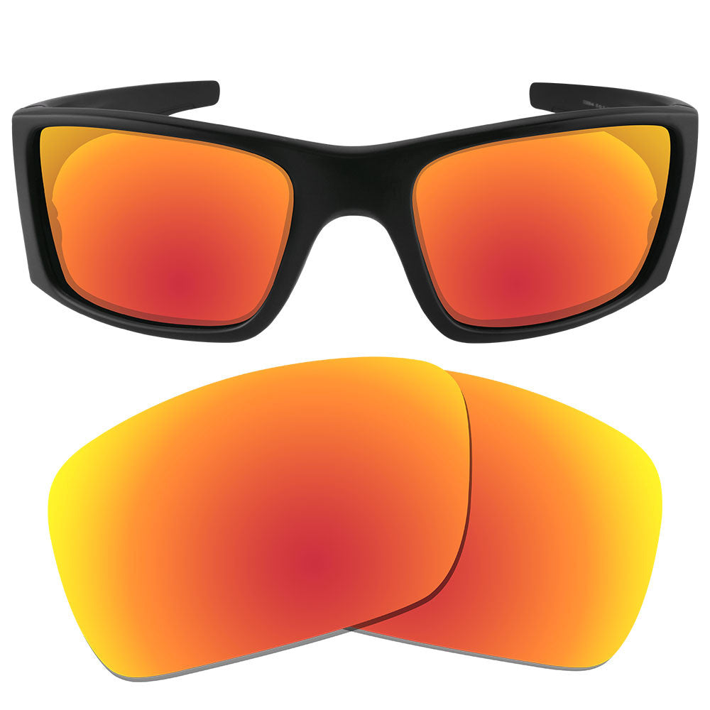 Oakley Fuel Cell Polarized >> Dynamix Polarized Replacement Lenses For Oakley Fuel Cell Fire Red Mirror