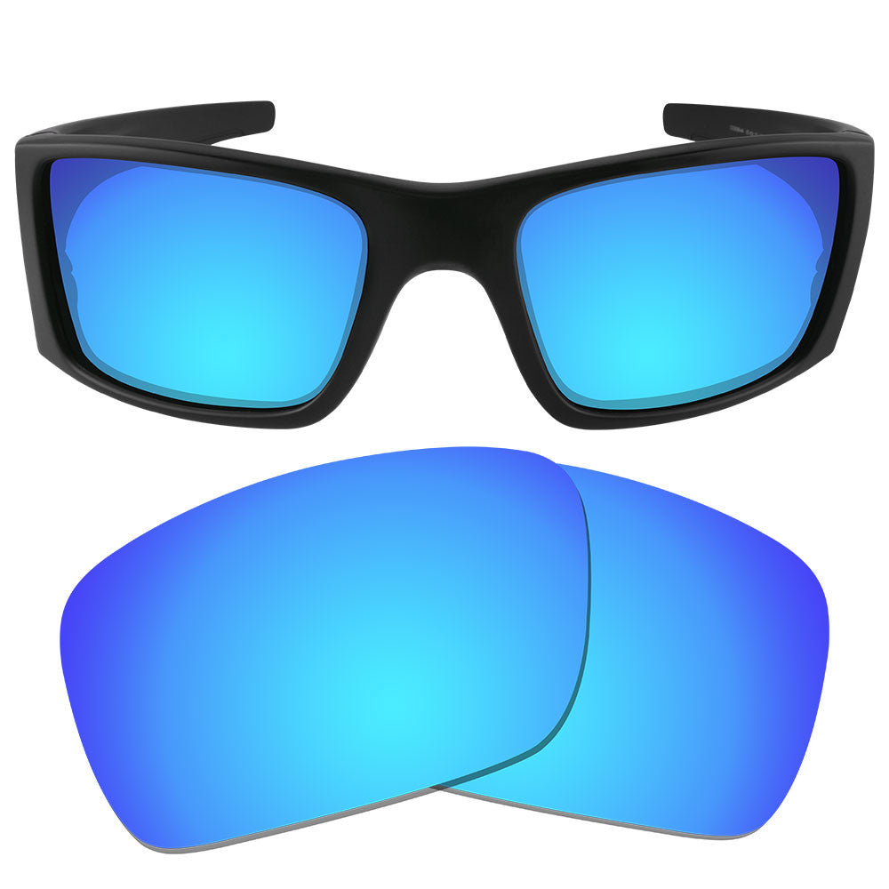ad74290424c ... Dynamix Replacement Lenses for Oakley Fuel Cell - Polarized Ice Blue 1  ...