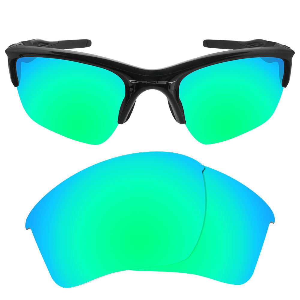 8a8feebe47 ... Dynamix Replacement Lenses for Oakley Half Jacket 2.0 XL - Polarized  Emerald Green 1 ...