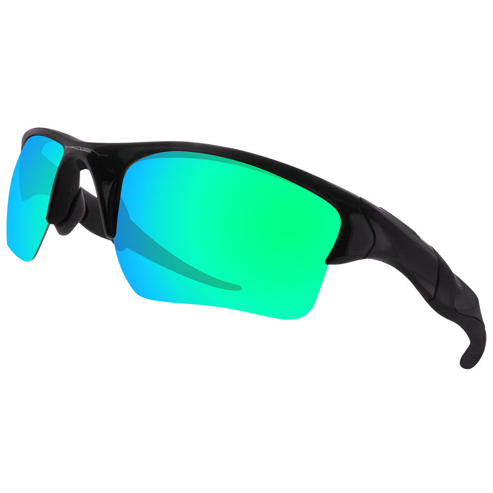 8d98f1266c Dynamix Replacement Lenses for Oakley Half Jacket 2.0 XL - Polarized Emerald  Green 5 ...