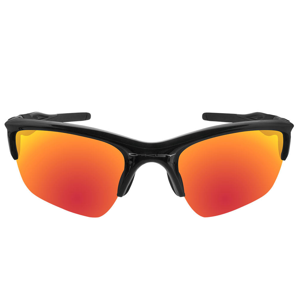 eb899515f24 ... Dynamix Replacement Lenses for Oakley Half Jacket 2.0 XL - Polarized  Fire Red 3 ...