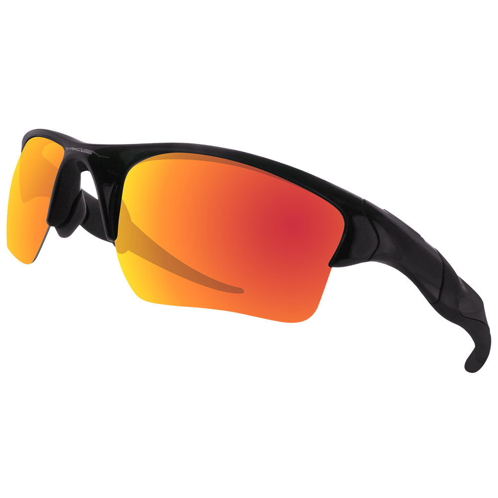 Oakley Half Jacket 2 0 Xl >> Dynamix Polarized Replacement Lenses For Oakley Half Jacket 2 0 Xl Fire Red Mirror