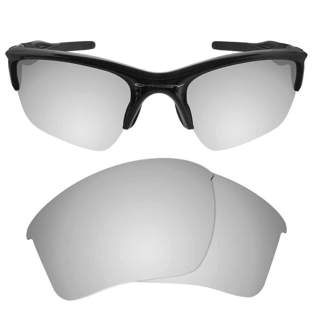 Oakley Half Jacket 2 0 Xl >> Dynamix Polarized Replacement Lenses For Oakley Half Jacket 2 0 Xl Titanium Mirror