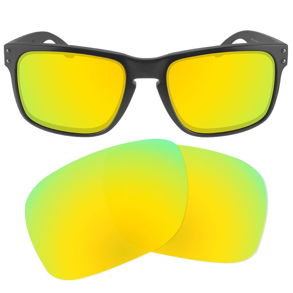 1a10aa966a ... Dynamix Replacement Lenses for Oakley Holbrook - Polarized 24K Gold 1  ...