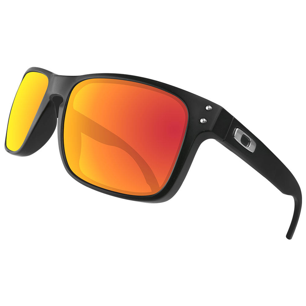 29aaecb052 Dynamix Replacement Lenses for Oakley Holbrook - Polarized Fire Red 5 ...