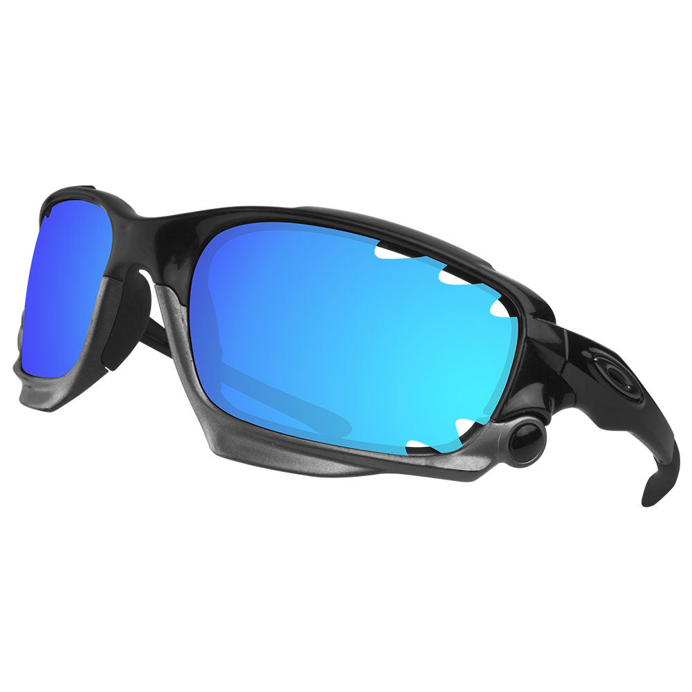 3718f1b855 Dynamix Replacement Lenses for Oakley Jawbone Vented - Polarized Ice Blue 5  ...