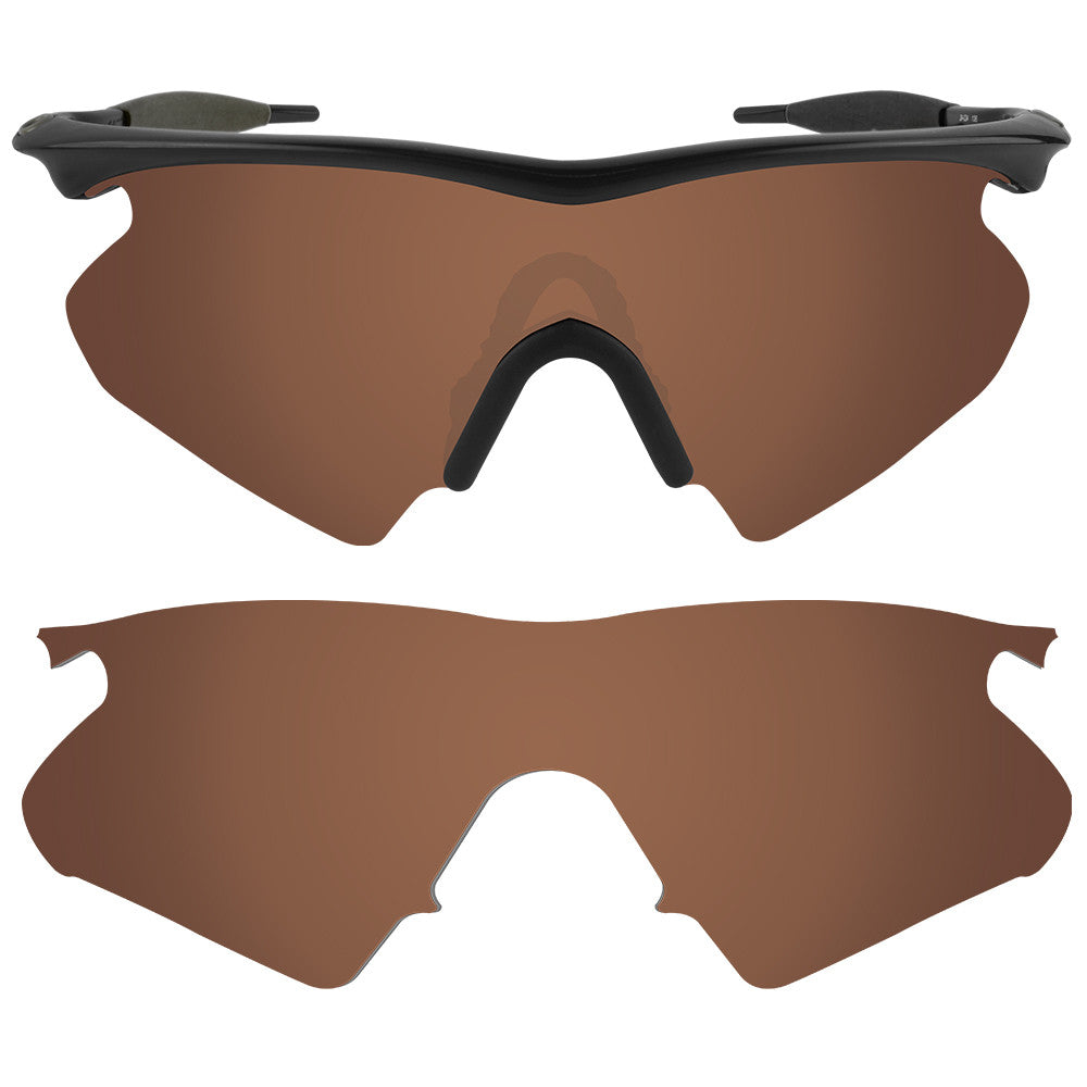 07cb105bd6 Dynamix Replacement Lenses for Oakley M Frame Heater - Polarized Earth  Brown 1 ...