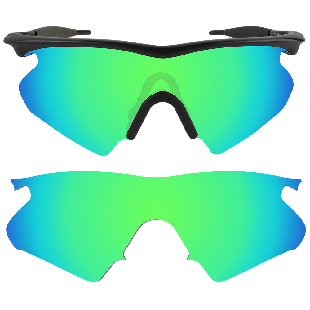 4d6d63eb8a Dynamix Replacement Lenses for Oakley M Frame Heater - Polarized Emerald  Green 1 ...