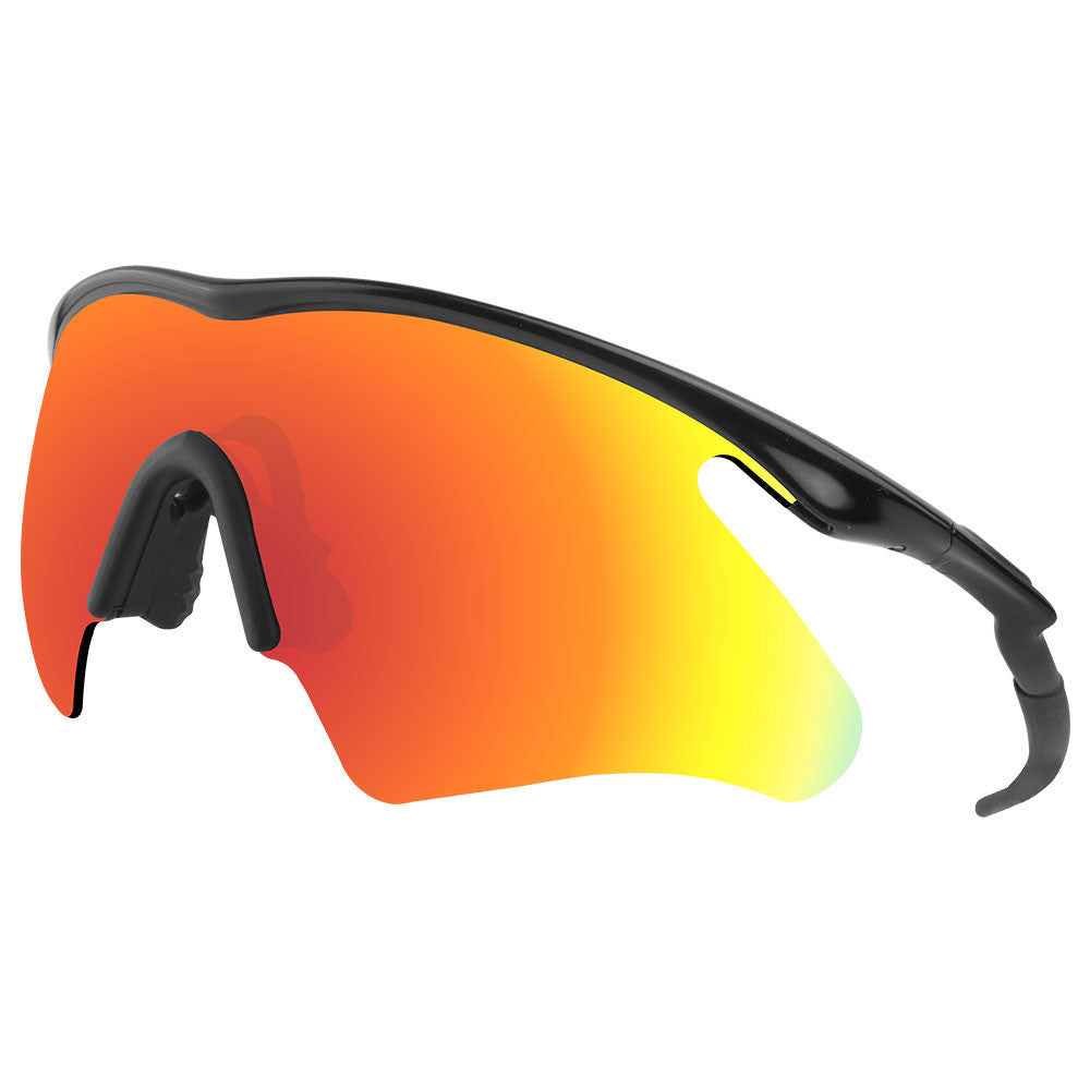 99e12d6524 Dynamix Replacement Lenses for Oakley M Frame Heater - Polarized Fire Red 5  ...
