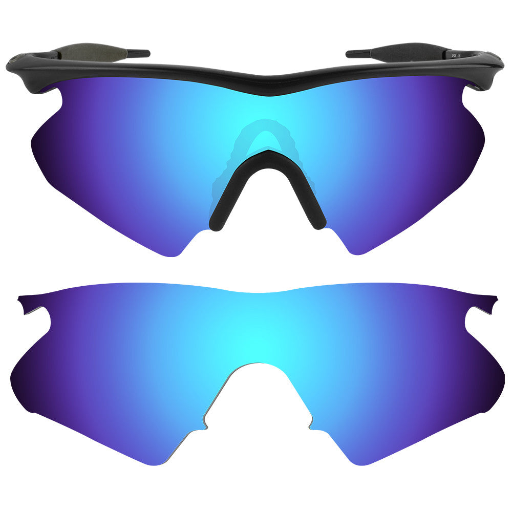 32d6e0cba6b ... Dynamix Replacement Lenses for Oakley M Frame Heater - Polarized Ice  Blue 1 ...