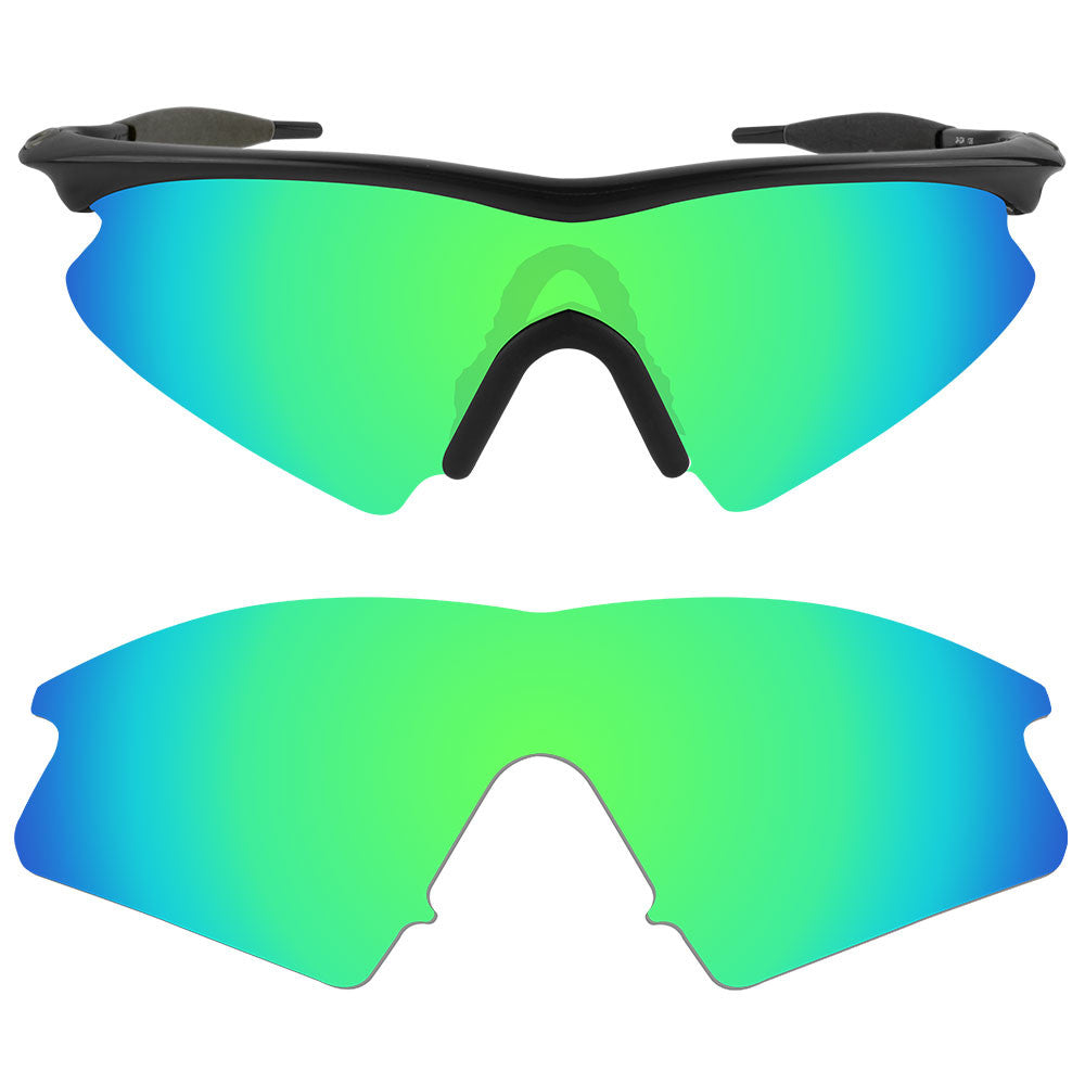 f9d301edce ... Dynamix Replacement Lenses for Oakley M Frame Sweep - Polarized Emerald  Green 1 ...