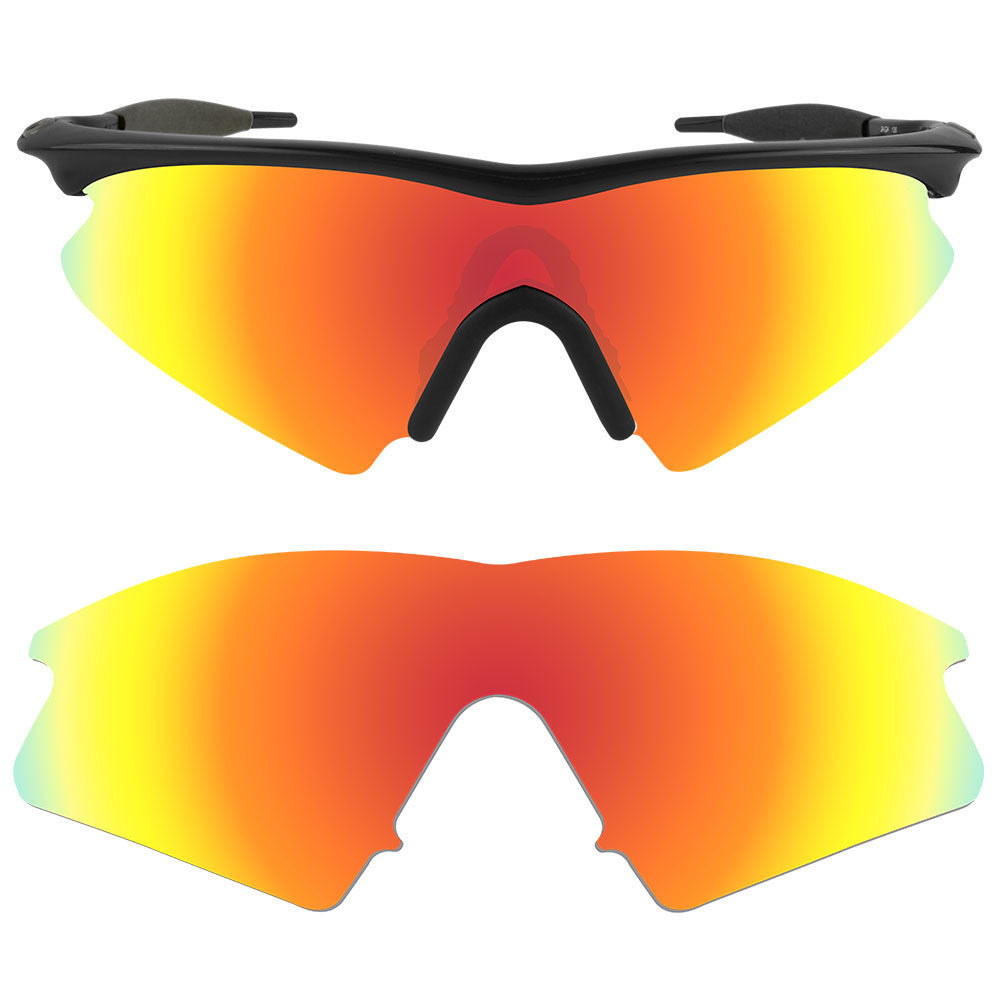 fb2dd8f071 ... Dynamix Replacement Lenses for Oakley M Frame Sweep - Polarized Fire  Red 1 ...
