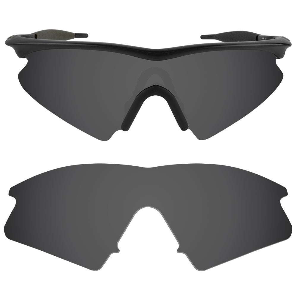ff53a9fbfa ... Dynamix Replacement Lenses for Oakley M Frame Sweep - Polarized Solid  Black 1 ...