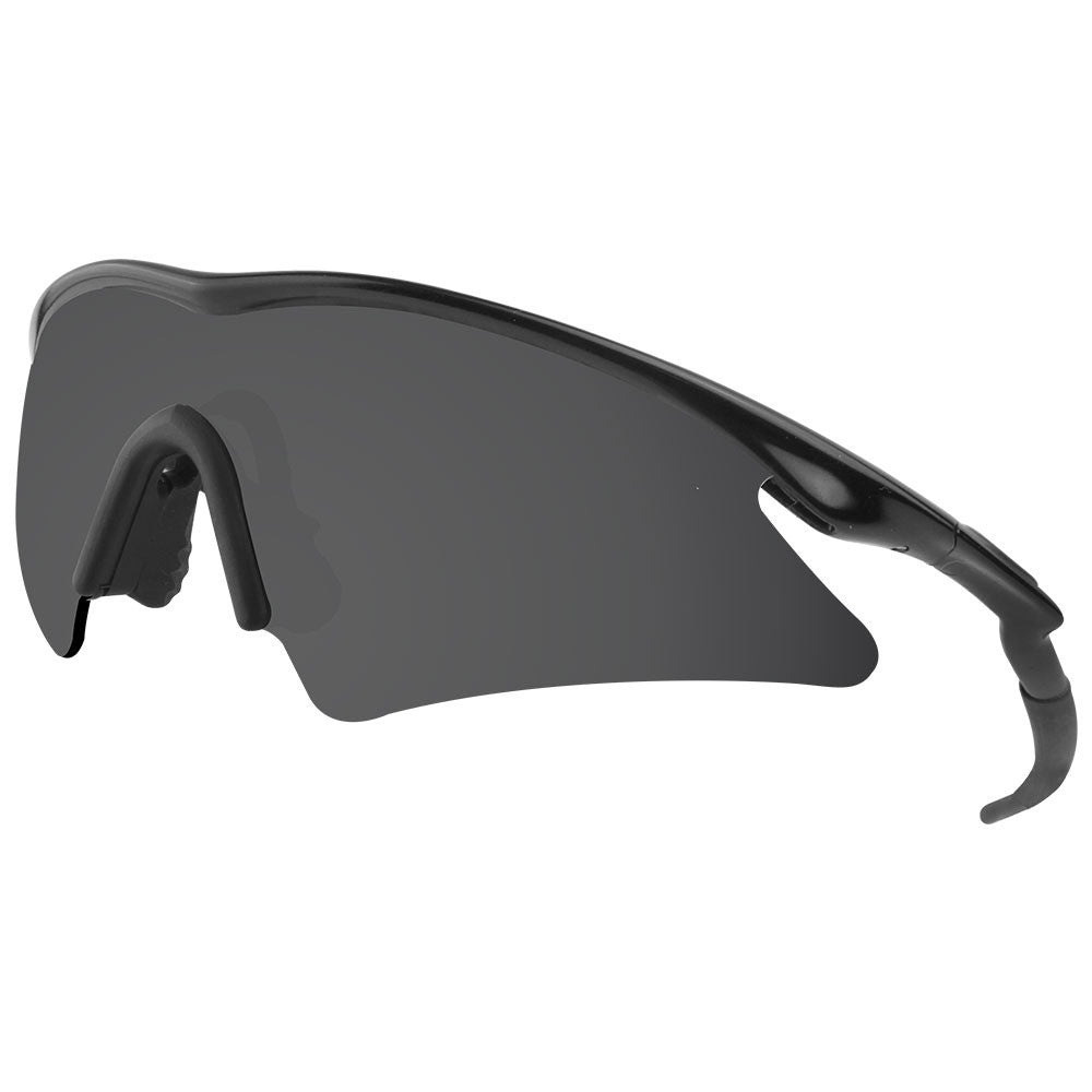 dynamix replacement lenses for oakley m frame sweep polarized solid black 5