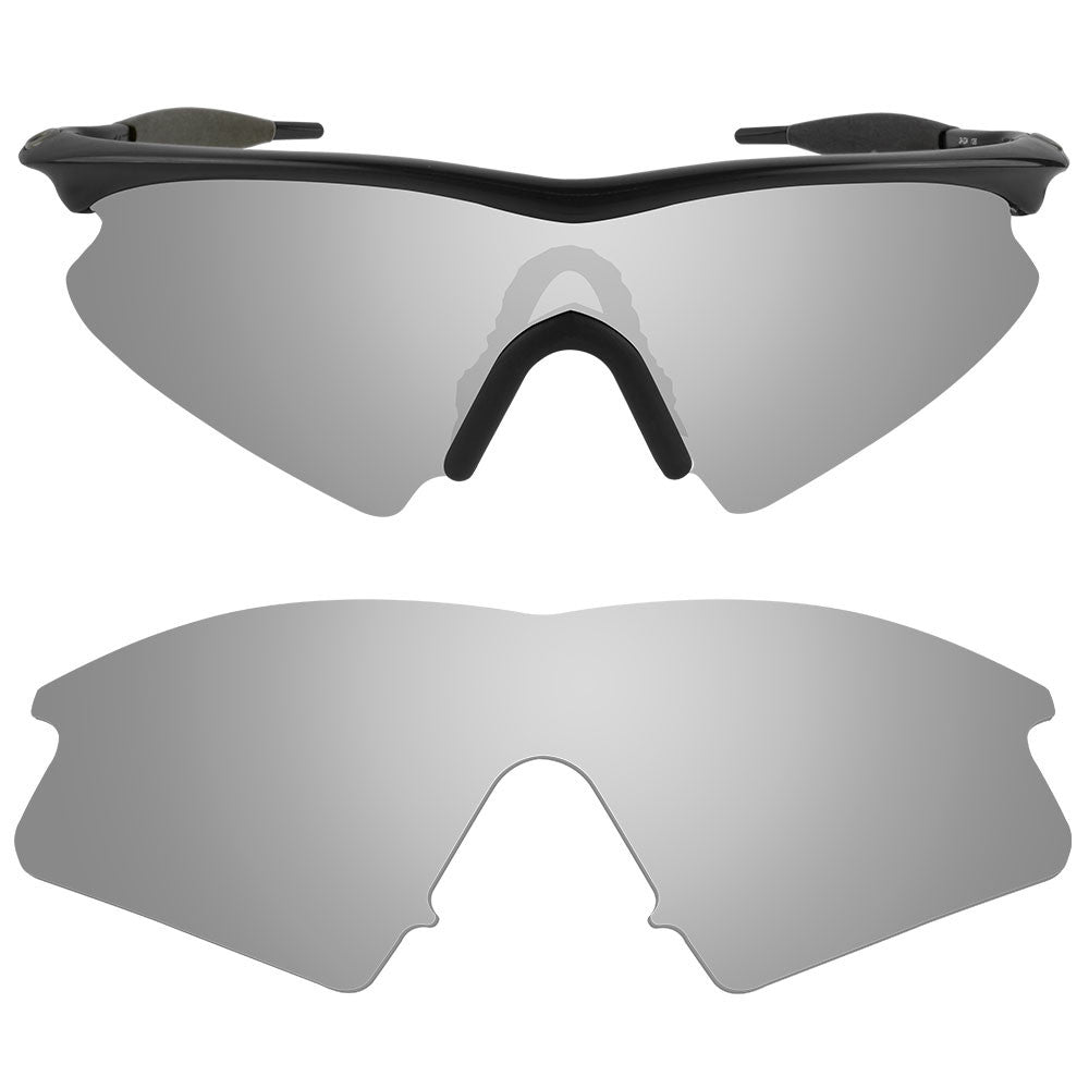 dynamix replacement lenses for oakley m frame sweep polarized titanium 1 - M Frame