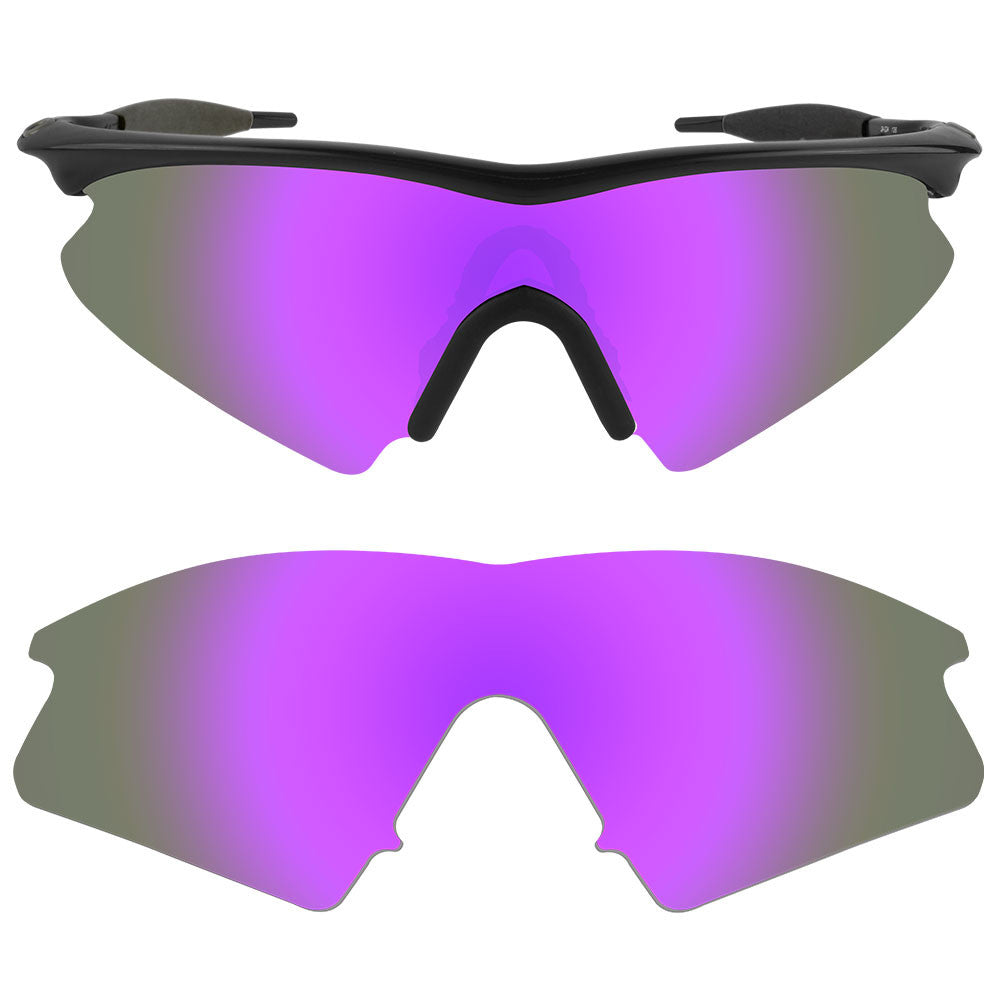 dynamix replacement lenses for oakley m frame sweep polarized violet purple 1