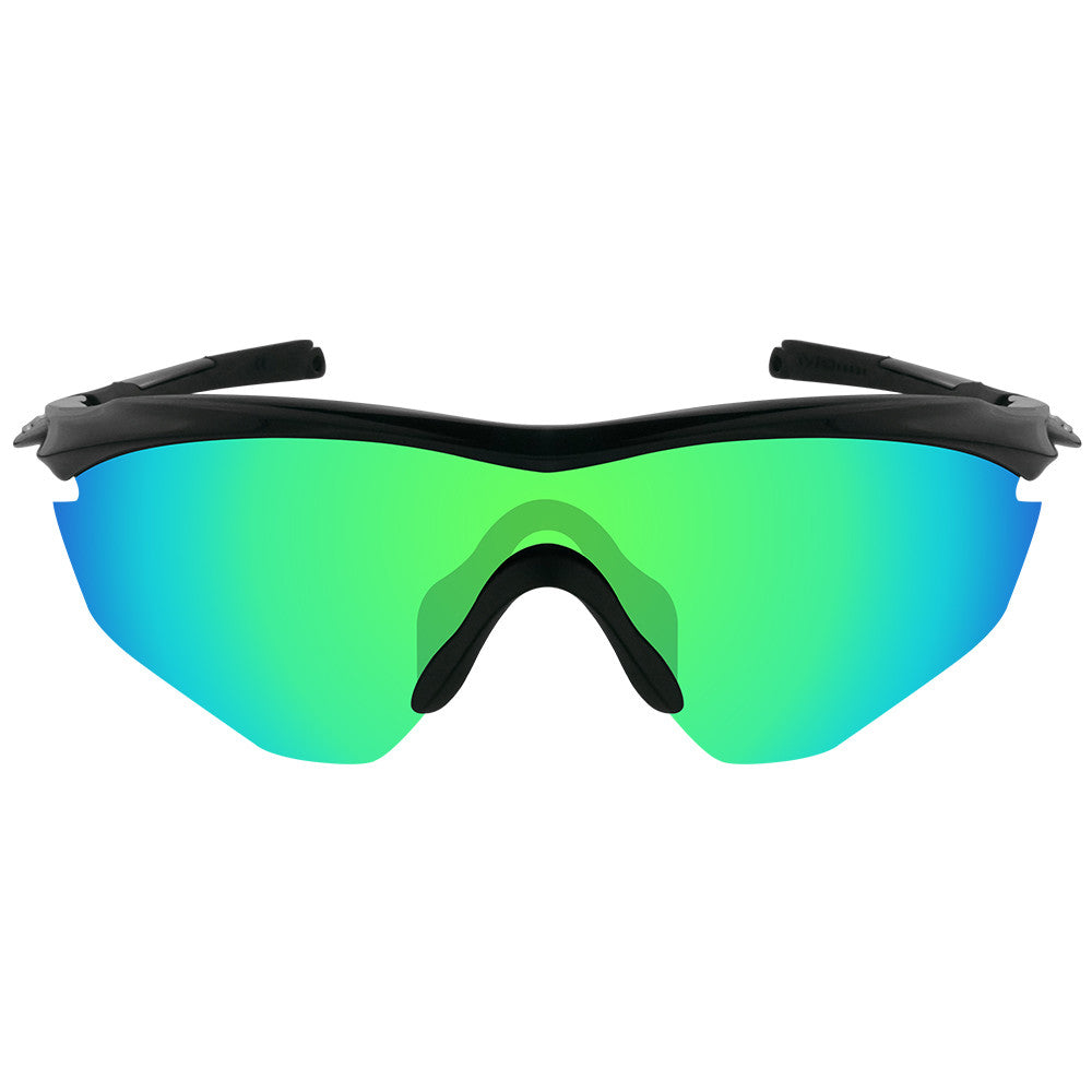 800ac3ebd63 ... Dynamix Replacement Lenses for Oakley M2 - Polarized Emerald Green 3 ...