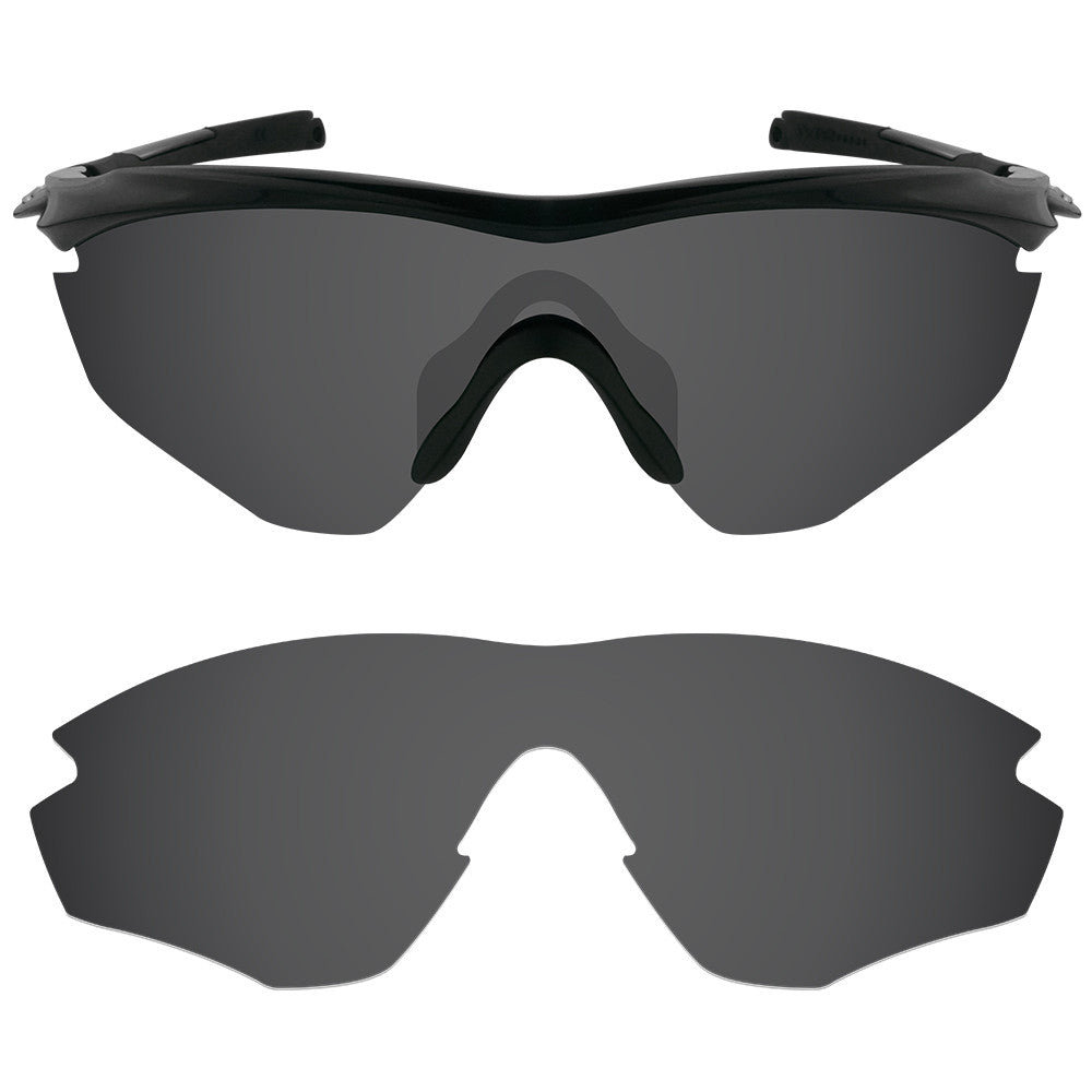 033b1c131f ... Dynamix Replacement Lenses for Oakley M2 - Polarized Solid Black 1 ...