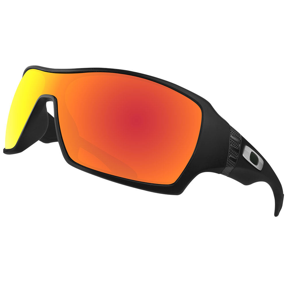fadca2fabbb Dynamix Replacement Lenses for Oakley Offshoot - Polarized Fire Red 5 ...